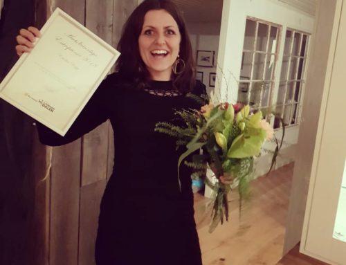 Emilia blev årets kvinnliga entreprenör!