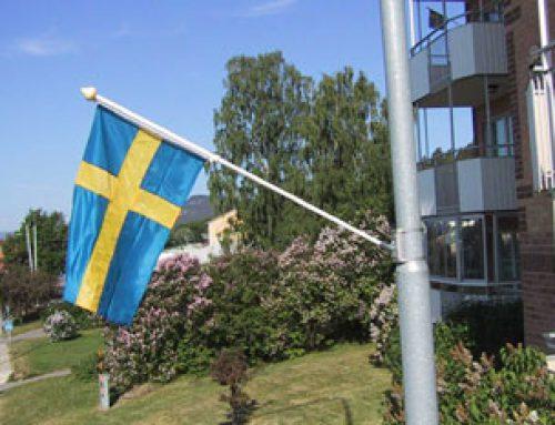 Flaggor genom Fränsta